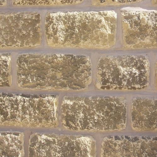 100mm split faced walling