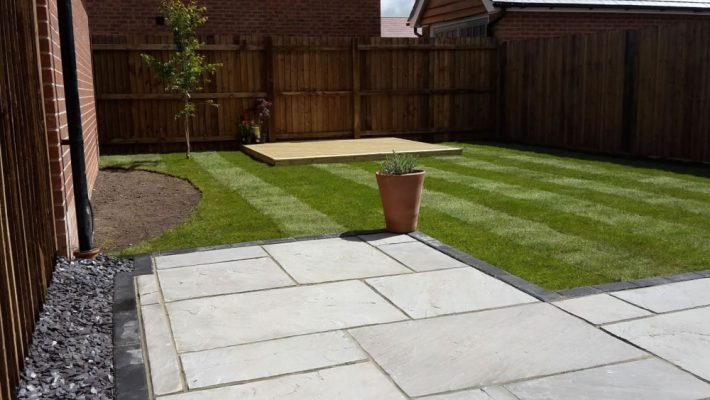 Natural Sandstone Paving - Kandla Grey