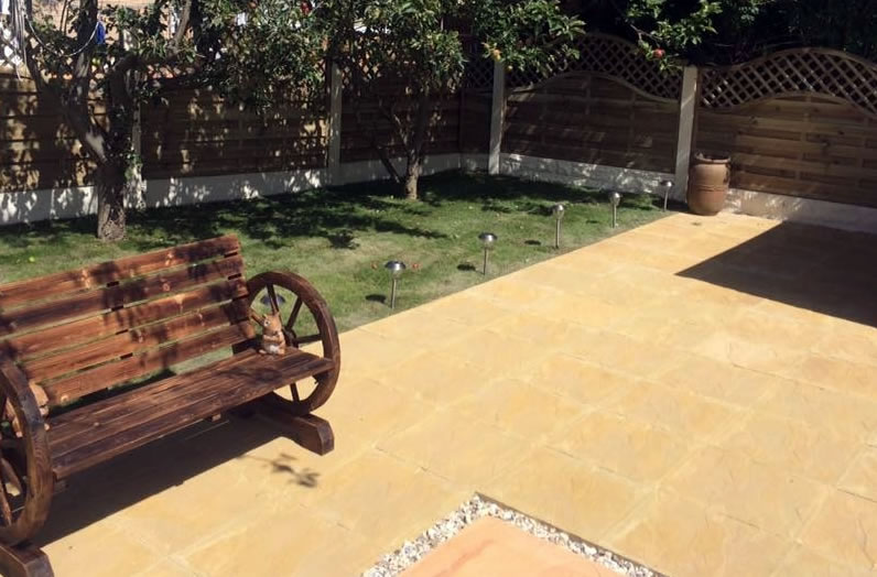 Natural Sandstone Paving - Lalitpur Yellow