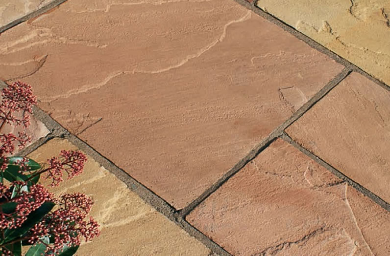 Natural Sandstone Paving - Modak