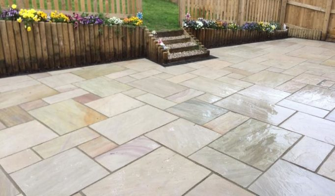 Natural Sandstone Paving - Raveena