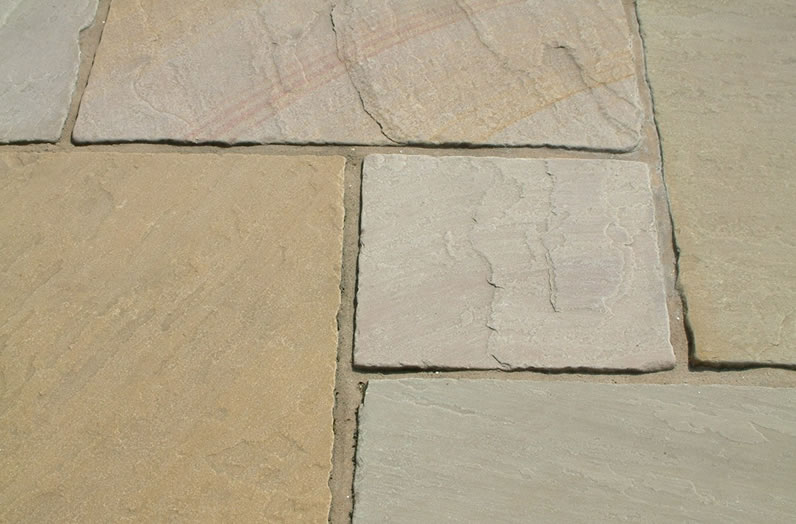 Natural Sandstone Paving - Ripon