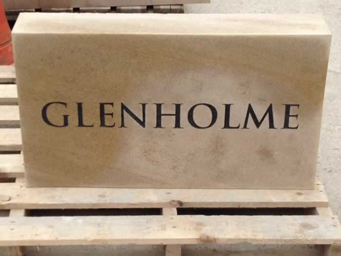 Stone House Name Signs Memorial Plaques Headstones