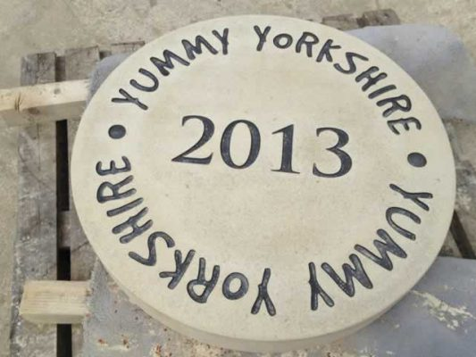 Date Plaque - Yummy Yorkshire