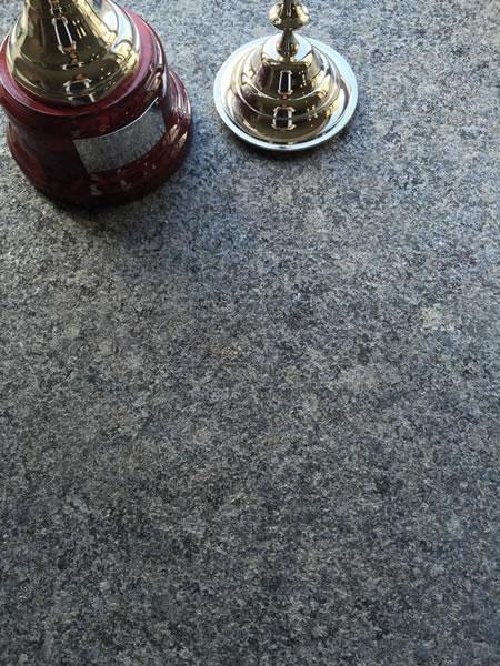 Dark Flamed Granite Paving