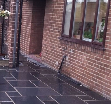 Kota Black Limestone Paving small