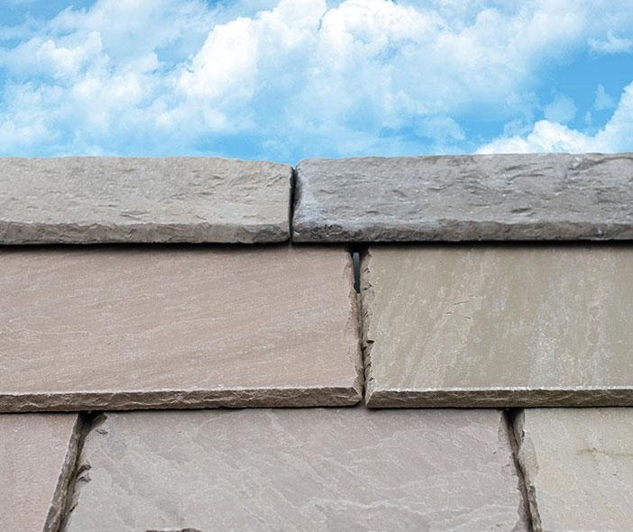 Ridge Tiles and Stone Roof Slates