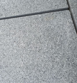 Silver Grey Granite Paving