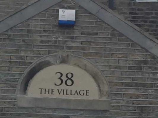 Stone House Name Plate - The Village