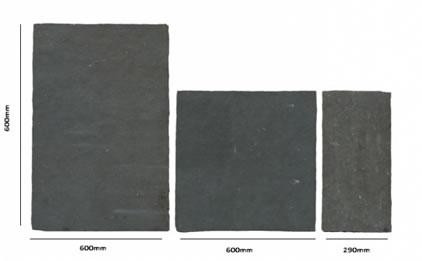 Size Guide - Black Slate