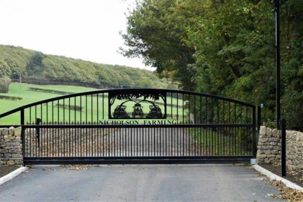 Haigh Hill Farm Stone Sign